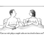 Er det ok at være for træt til sex….?