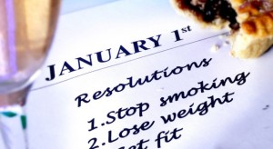 A98C0Y making New Years resolutions